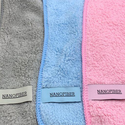 Alle kleuren nanodoekjes Nanofiber voor droog en vochtig gebruik.